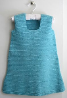 Crochet toddler dress pattern, Cocos Bobble Dress, at the Purl Bee. Sweet, simple and cute!
