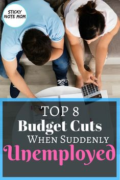 When you are Suddenly Unemployed budget cuts are needed for your household finances. Budgeting Finances, Budgeting Tips, Monthly Budget Planner, Monthly Expenses, Household Budget, Planning Budget, Create A Budget, Budget Help, Living On A Budget