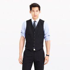 J.Crew - Ludlow suit vest in Italian wool