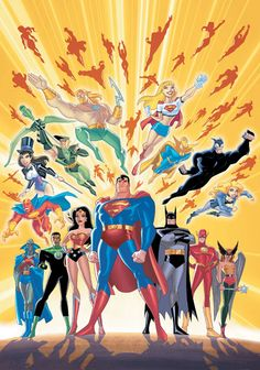 Justice League unlimited was one of my favorite DC cartoons. It wasn't just full of action it was also full of drama between the heroes and had darker theme and sometimes used political themes in episodes. :)
