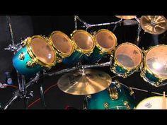 Jonathann Launer Drum Set Tour