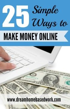 If you want to make a little extra money online, now's the time — especially if you have a computer. There are many unique money-making opportunities available, and surprisingly many people, including myself, are finding that is it possible to can earn a few extra dollars a month in a variety of ways.