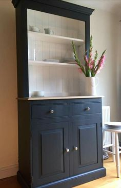 Super Repurposed Furniture For Kitchen Dressers Ideas Refurbished Furniture, Paint Furniture, Repurposed Furniture, Furniture Makeover, Home Furniture, Kitchen Furniture, French Dresser, Welsh Dresser, Kitchen Tops