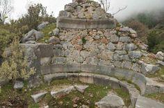 Die antike Stadt Laertes in Mahmutlar / Alanya