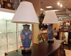 Pair of Asian Lamps