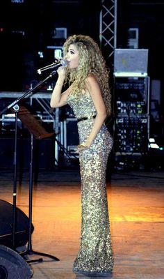 Myriam Fares Wearing Rami Kadi
