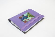 Jane Galloway Kereru A6 Leather Notebook