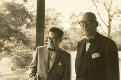 Le Corbusier and Junzo Sakakura,