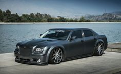 """fullthrottleauto: Chrysler 300 Fitted with 22 Inch in Matte Graphite Machine Face """" Chrysler C300, Chrysler 300 Hemi, Chrysler 300 Custom, 2010 Chrysler 300, Chrysler Jeep, My Dream Car, Dream Cars, American Classic Cars, American Modern"""