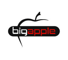 "by Argiro Stavrakou, year 2004,  Logo for the ""Big Apple"" Restaurant-Lounge-cafe."