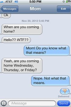 #lol  20 Funny Text Messages from Parents http://www.viralands.com/texting-gone-wrong