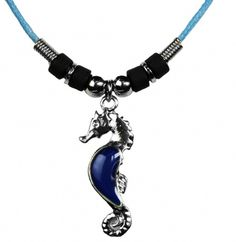 Seahorse Mood Necklace at theBIGzoo.com, a family-owned gift shop with 12,000+ animal-themed items.