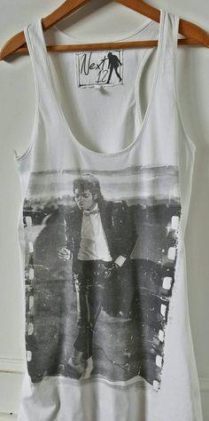 Michael Jackson Shirt, Michael Jackson T Shirt Oversized Tank by ResouledGypsy on Etsy Michael Jackson Merchandise, Michael Jackson Youtube, Vintage Band Tees, Jackson Family, Bathing Suit Covers, Fashion Line, Tank Shirt, Reyes, Music Bands