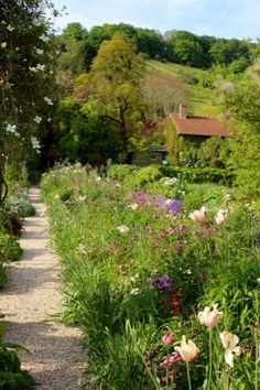 Claude Monet's Garden in Giverny