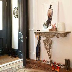 Flur Diele Wohnideen Möbel Dekoration Decoration Living Idea Interiors home corridor - Halle Konsole