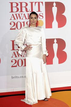 Jessie Ware Photos - * EDITORIAL USE ONLY IN RELATION TO THE BRIT AWARDS 2018* Jessie Ware attends The BRIT Awards 2018 held at The O2 Arena on February 21, 2018 in London, England. - The BRIT Awards 2018 - Red Carpet Arrivals