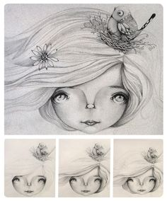 Birds Nest - work in progress - art by Karin Taylor | karin taylor ...