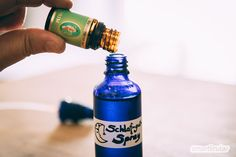 Sleep-well spray itself make from 3 ingredients - Healthy Lifestyle Tips