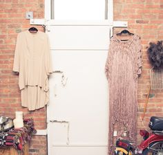 """My label is between a contemporary aesthetic and a design aesthetic."" http://www.thecoveteur.com/kaelen-haworth-apartment/"