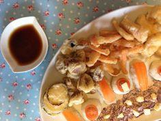 tempura de legumes  ZIRIPITI