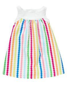 gymboree Rainbow dot dress