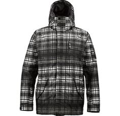 The White Collection Tracker Snowboard Jacket, sig fit, Thermacore™ Insulation [60G Body / 40G Sleeves and Hood] Taffeta Lining, 2-Layer Twill Fabric [10,000MM, 5,000G]