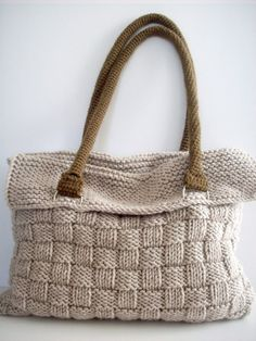 Beautiful Knitted Bag