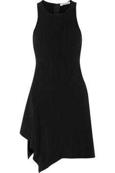 Black cady Zip fastening along back 68% polyester, 26% rayon, 6% elastane Dry clean