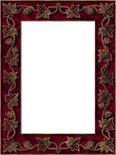 Presentation Photo Frames: Tall Fancy Rectangle, Style 43