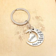 Brother Love Keychain - Ashley Jewels - 1