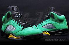 "3cbc4bff5418 Air Jordan 5 (V) Retro ""Oregon Ducks"" Detailed Images Duck Shoes"