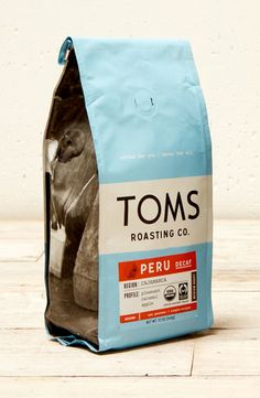 TOMS Thankful coffee blend is named after Thankful Day, an annual TOMS tradition where employees enjoy dinner together and share what they're most thankful for. #TOMSRoastingCo