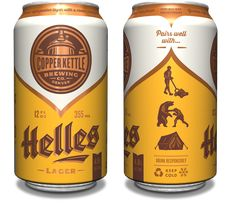 Copper Kettle Helles Can - design by Emrich Office