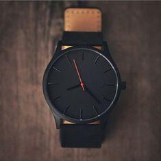 03779ed8a R$ 7.29 40% de desconto|Reloj 2018 Moda Grande Dial Homens Relógio De Couro  Do Esporte relógios de Quartzo Militar Relógio de Alta Qualidade relógio de  ...