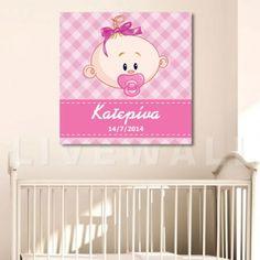 Παιδικός πίνακας σε καμβά κουκουβάγιες με όνομα PinkΠαιδικός πίνακας σε καμβά κουκουβάγιες με όνομα BlueΠαιδικός πίνακας σε καμβά με όνομα Girl