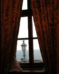 Romantic view from Miramare Castle, Trieste