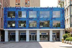 #Mosaic: #Glamour Custom Design - #Mediolanum #Bank Headquarter - Piazzetta #Bussolin ∙ Padova, Italy - Architects: Studio #Corà & Partners