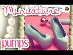 How To Make Miniature Polymer Clay Doll Shoes: Platform Pumps | Polymer Clay Tutorial - YouTube