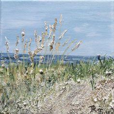 Acrylbild Düne Leinwand 20 x 20 x 1,5 cm Malerei Düne Kühlungsborn, Deutschland Ich liebe es das Meer, die Wellen, Küstenlandschaften, Leuchttürme und ja sogar den Wind mit Acryl Farben zu malen. Viele verschiedene Strukturpasten und auch Materialien aus der Natur kommen dabei zum Einsatz. Meine Bilder können erfühlt werden und manchmal meint man sogar den Duft des Meeres zu riechen