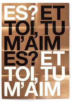 Tankboys Graphic Design Je T'aime 2007-2013