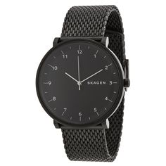 Skagen Hald Black Dial Black PVD Stainless Steel Men's Watch SKW6171 - Hald - Skagen - Shop Watches by Brand - Jomashop