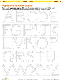 Help your kids get ready for school with printables that teach letters, shapes, sizes, and seasons.