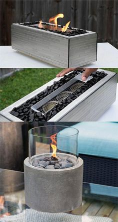 24 Best Fire Pit Ideas to DIY or Buy ( Lots of Pro Tips! ) 24 Best Fire Pit Ideas to DIY or Buy Sitting around an outdoor fire pit with loved ones, gazing at the warm flames under the starry night sk Cool Fire Pits, Diy Fire Pit, Fire Pit Backyard, Tabletop Fire Bowl, Fire Pit Table, Fire Pit Grill, Fire Pit Area, Diy Propane Fire Pit, Portable Fire Pits