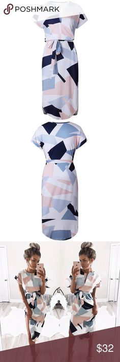 Last restock! Woman's boho dress. Very popular for summer time! I have sold meant of these before, this will be my very last restock. Dresses Midi