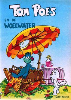 Tom Poes (Oberon) - 08 - Tom Poes En De Woelwater