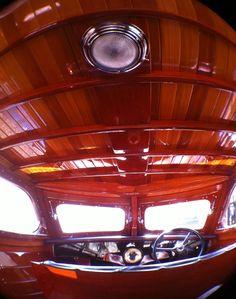 Gar Wood Streamline sedan Interior