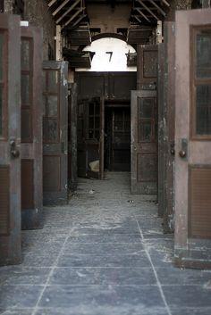 doors ajar. by stevenbley, via Flickr