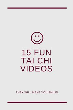 15 fun Tai Chi videos  #taichi #taijiquan #taiji #taichichuan #videos #taichiforbeginner #fun