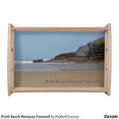 Porth Beach Newquay Cornwall Serving Tray