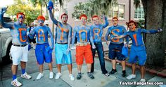 Body Painting seen on Florida Gameday